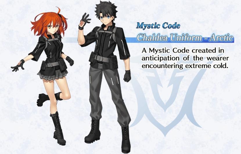 Mystic Code Chaldea Uniform Arctic