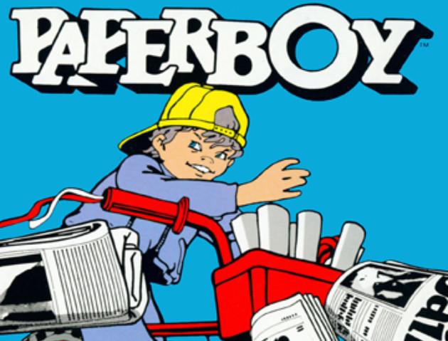 Paperboy 35th anniversary Mario
