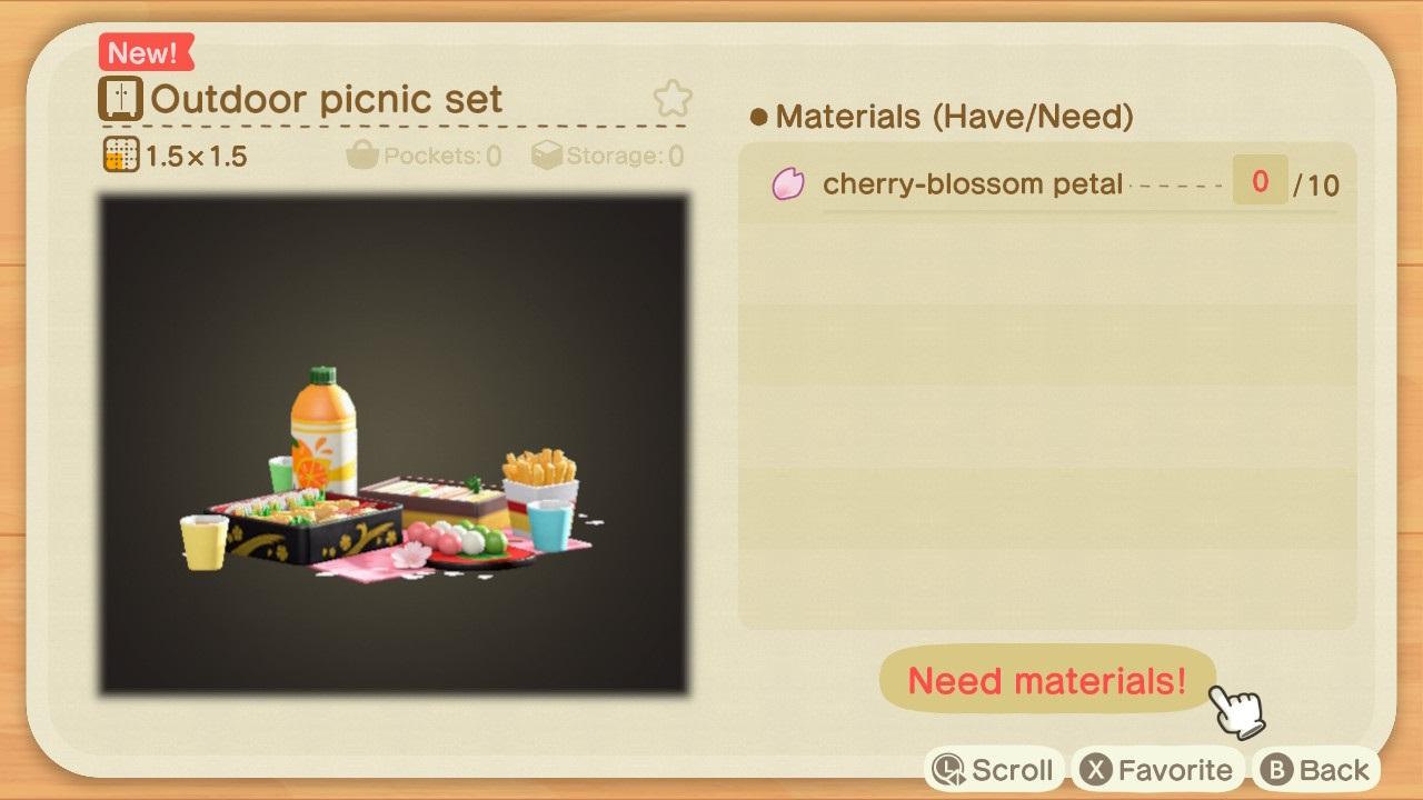 animal crossing new horizons bunny day recipes cherry blossom recipes 3