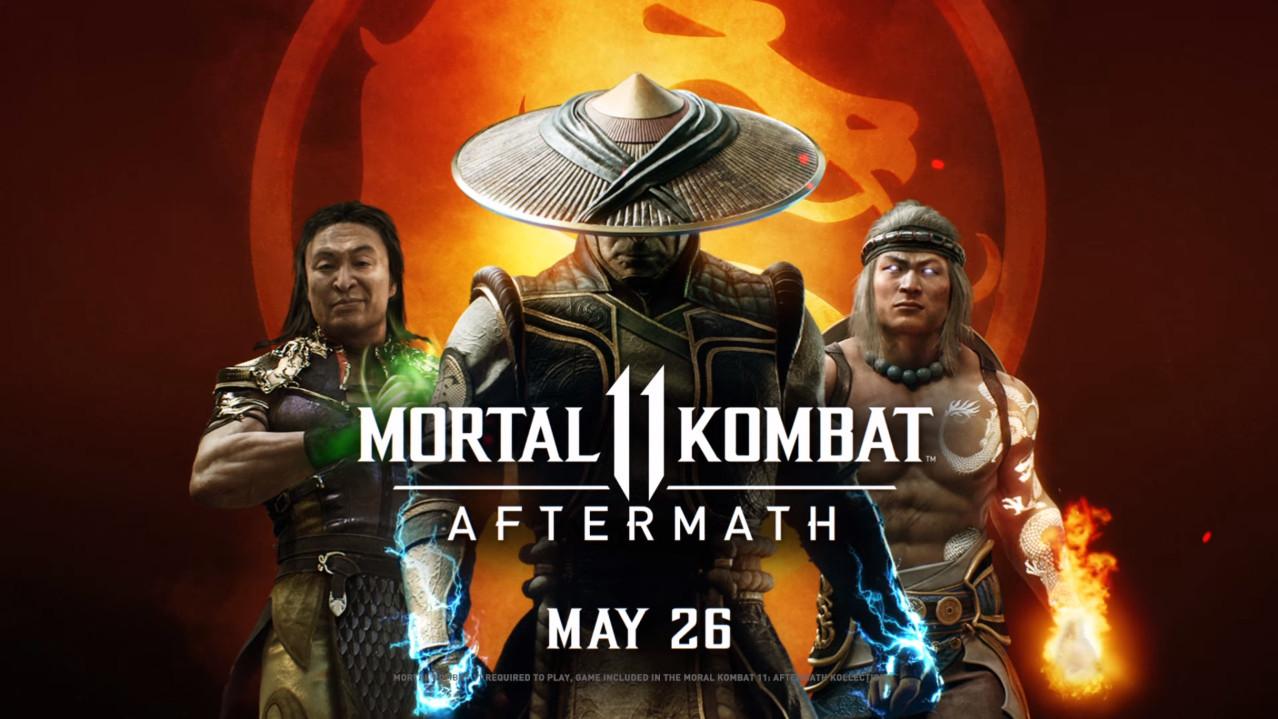 Mortal Kombat 11 Aftermath expansion Fujin Sheeva RoboCop