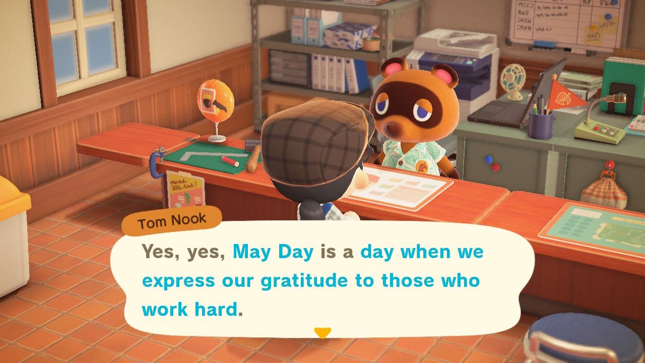 Animal Crossing May Day Celebration