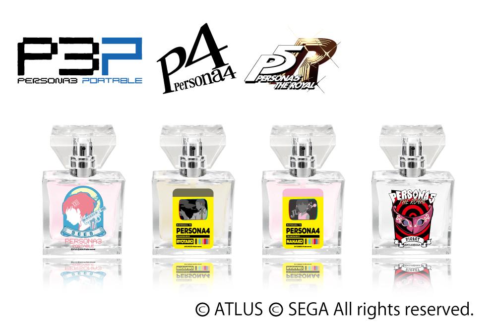 Persona's Character-Inspired Fragrances Have P3P FeMC, Violet, Dojimas