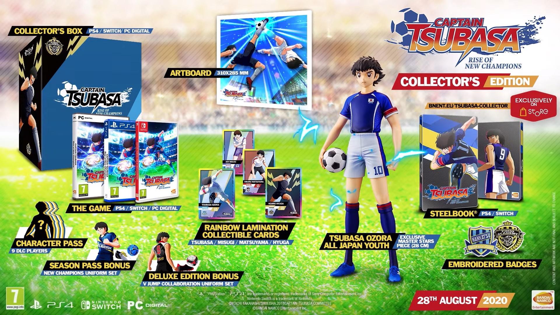 captain tsubasa release date collectors edition