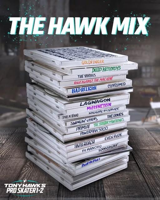 tony hawks pro skater soundtrack tease