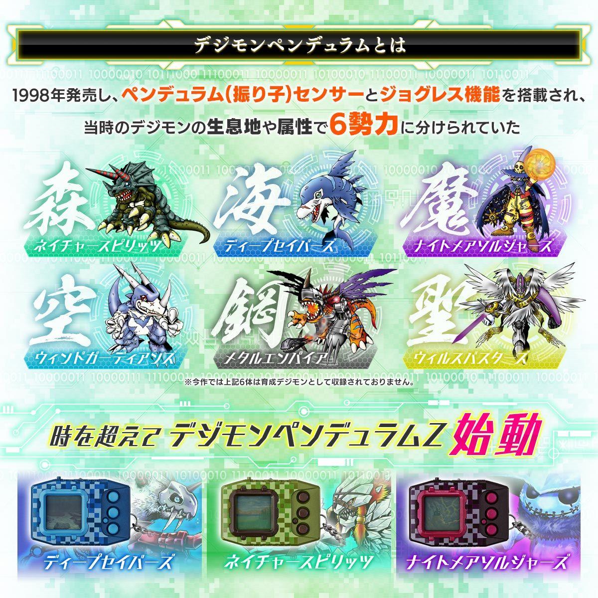 BANDAI Premium Digimon Pendulum Z Nature Spirits Digimon Digivice