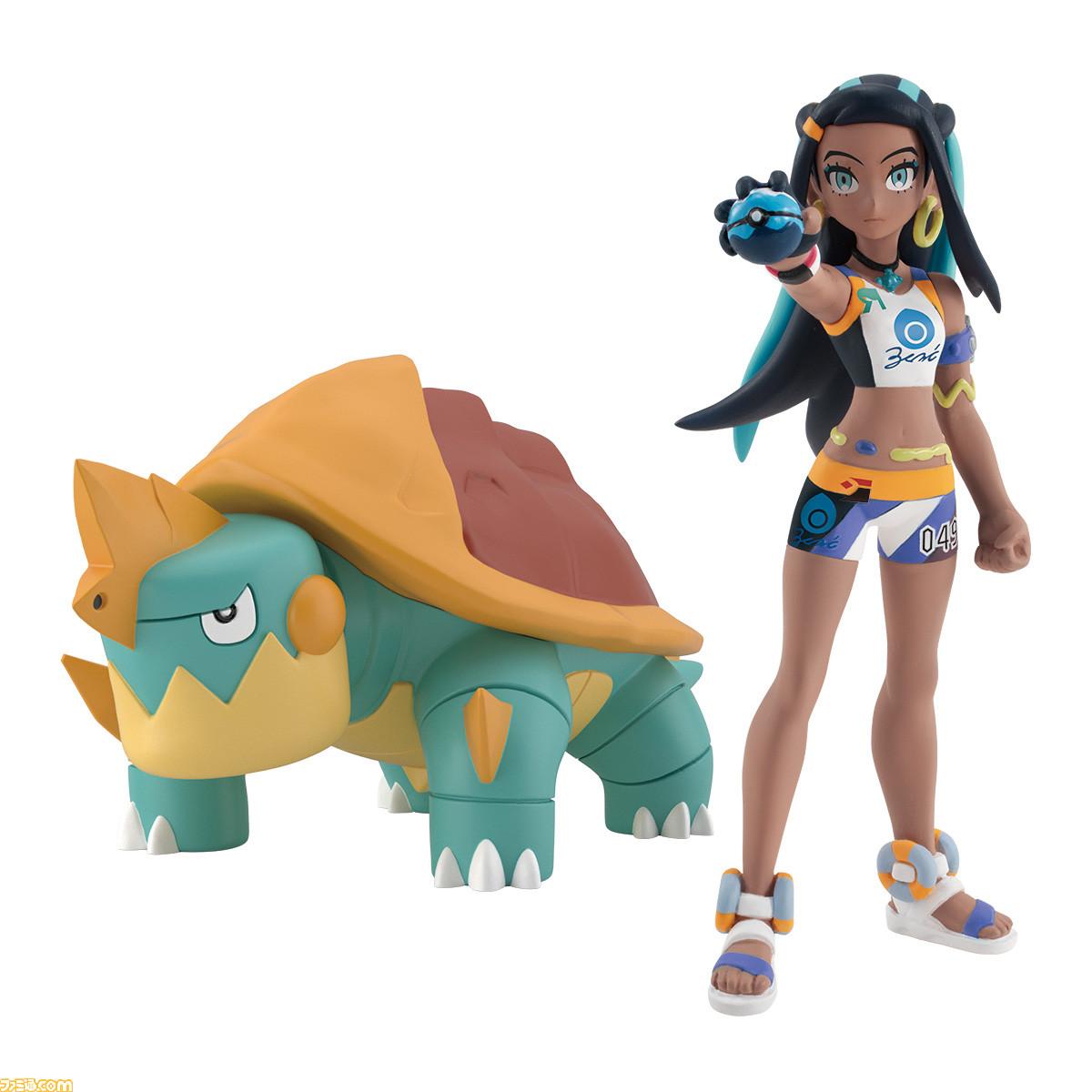 Nessa and Drednaw Bandai Spirits Pokemon Scale World Figure