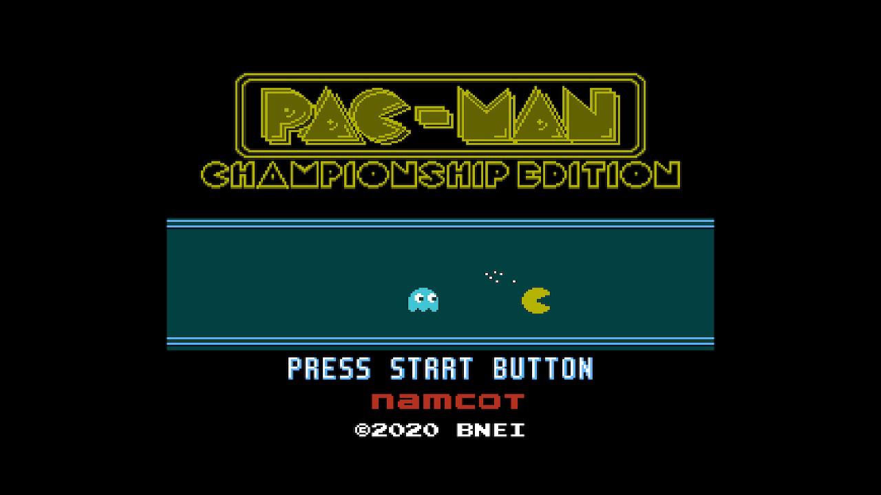 Pac-Man Championship Edition Namcot Collection