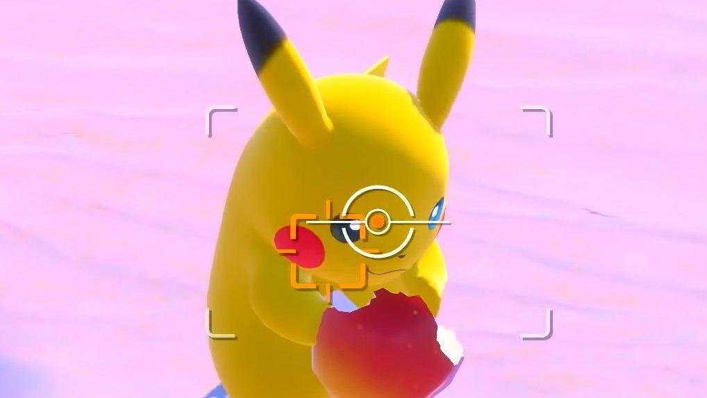 new pokemon snap apples