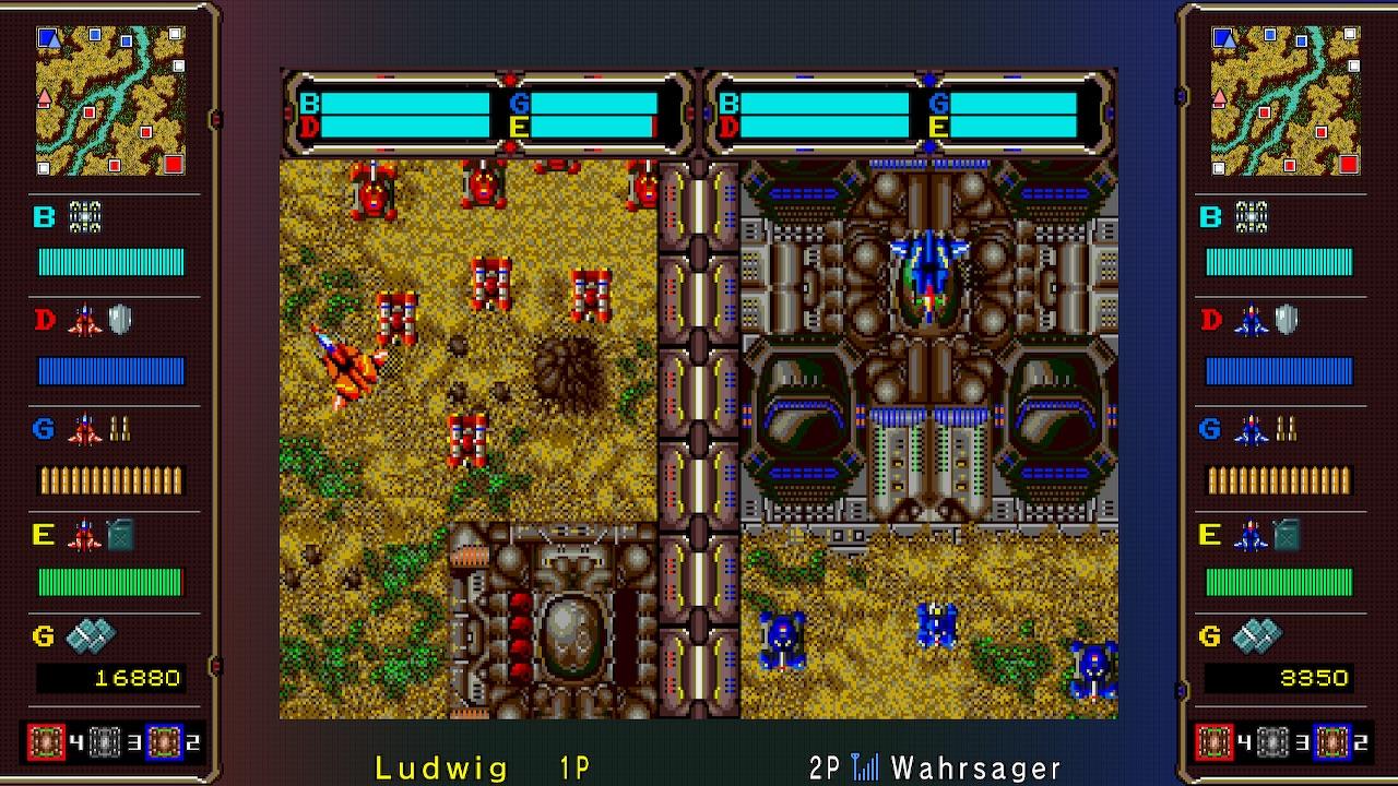 Sega Ages Herzog Zwei