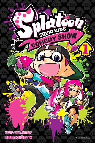 splatoon squid kids comedy show splatoon manga