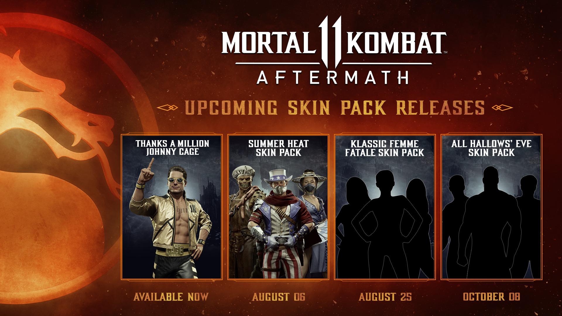 Mortal Kombat 11 Summer Heat Skin Pack