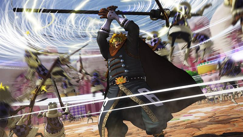 One Piece: Pirate Warriors 4 Vinsmoke Judge trailer