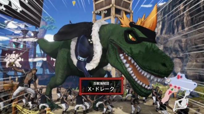 One Piece: Pirate Warriors 4 X Drake DLC Character