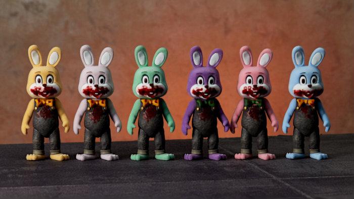 silent hill 3 rabbit figure robbie the rabbit 1a