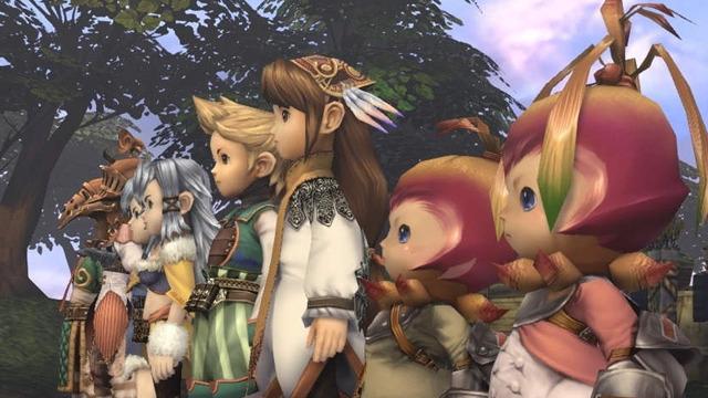 Final Fantasy Crystal Chronicles Region Locked Multiplayer