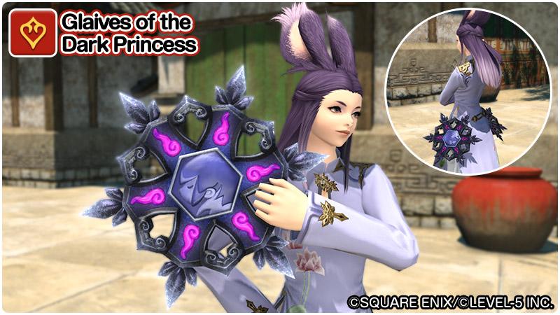 Glaives of the Dark Princess FFXIV
