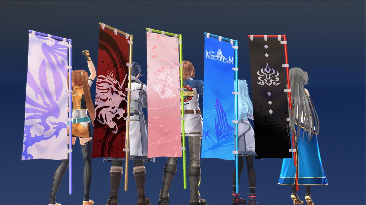 Hajimari no Kiseki DLC - Flags