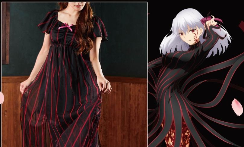 dark sakura dress