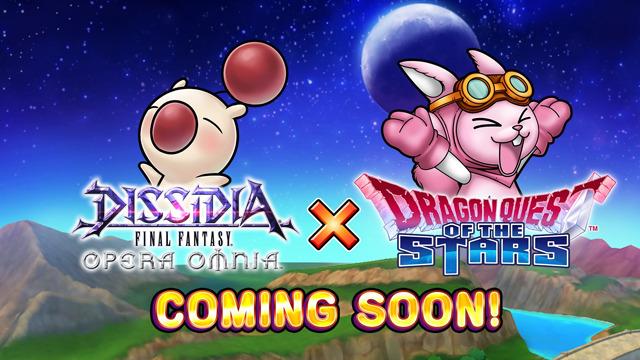 Dissidia Final Fantasy Opera Omnia Dragon Quest of the Stars Collaboration