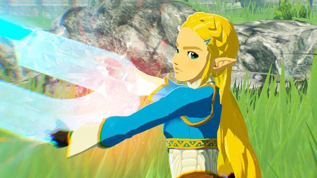 Hyrule Warriors: Age of Calamity Zelda Link