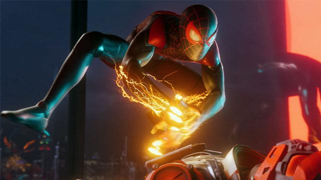 Miles Morales Spider-Man PlayStation 5