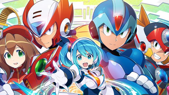 Mega Man X DiVE Pre-Registration