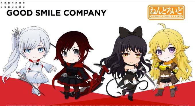 good smile company rwby nendoroids