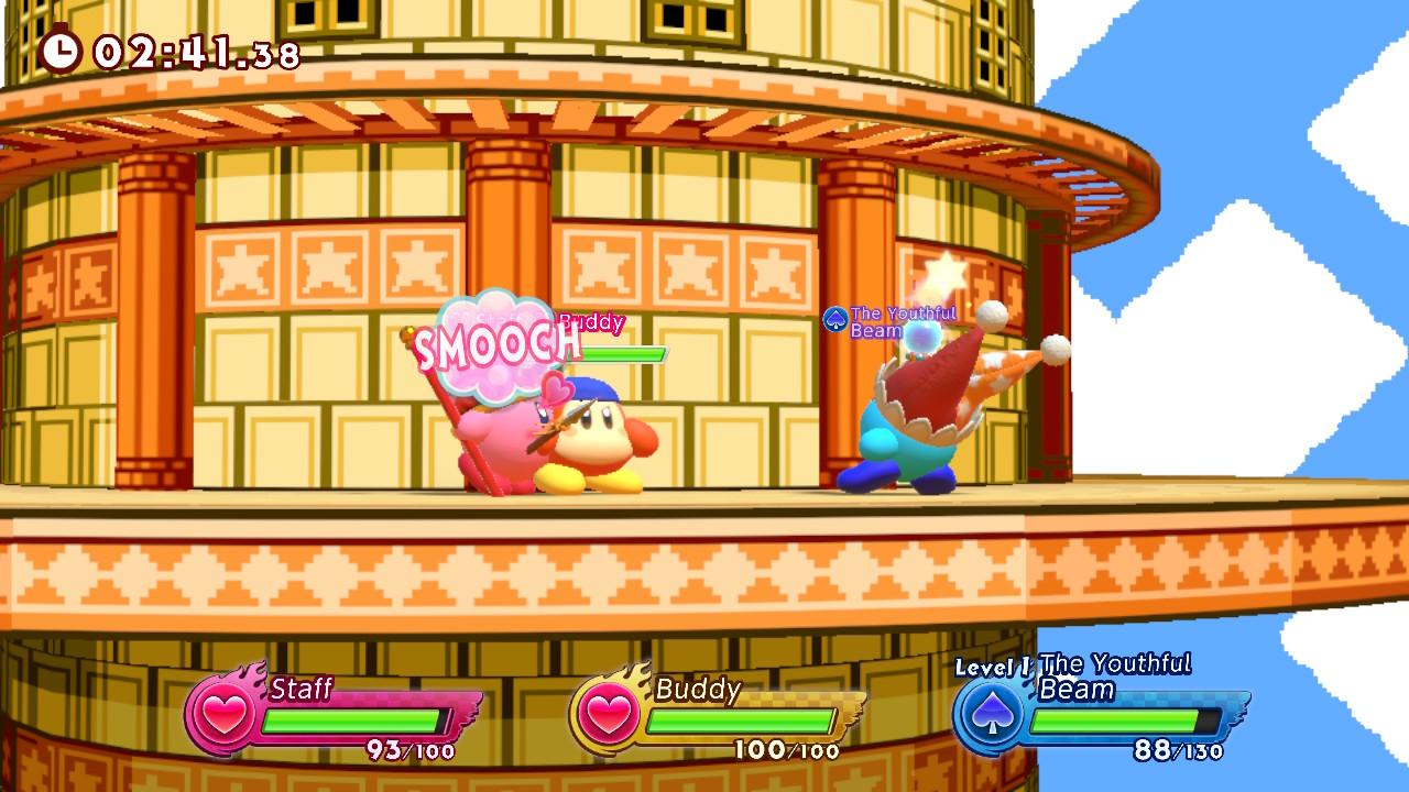 Kirby smooch