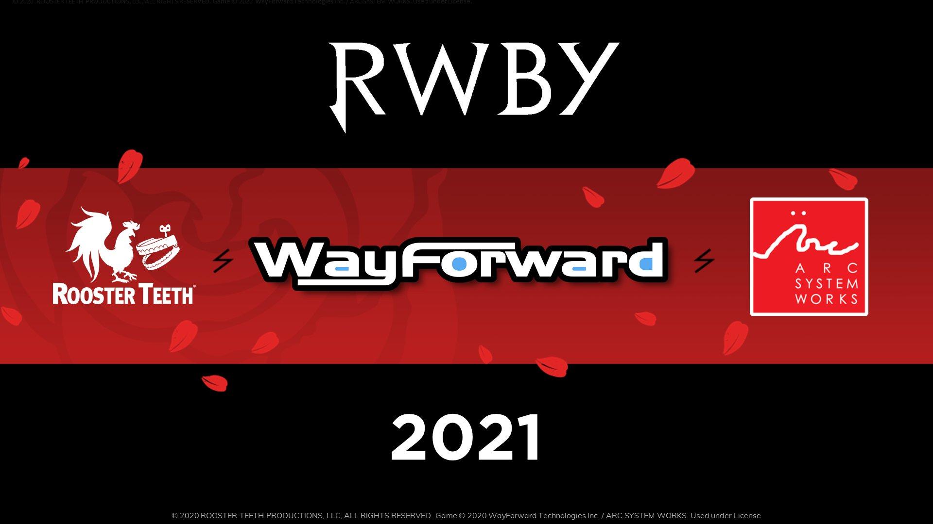 rwby wayforward arc system works 2021 game