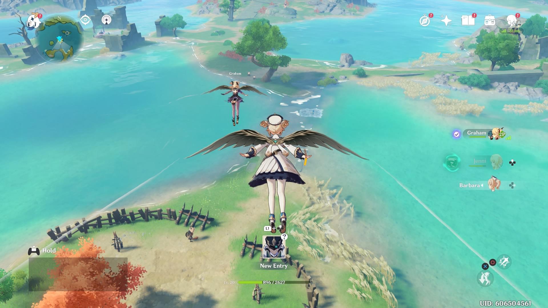 Genshin Impact multiplayer
