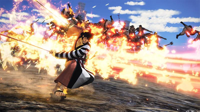 One Piece: Pirate Warriors 4 Kin'emon DLC