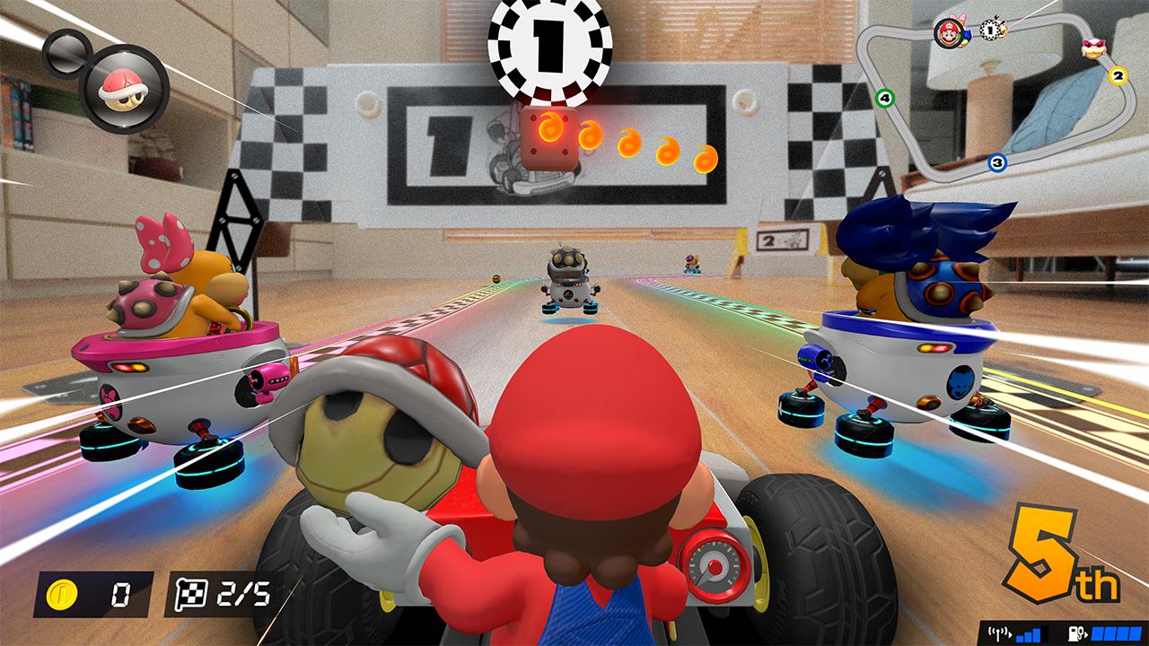 mario kart live home circuit review