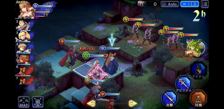 War of the Visions Final Fantasy Combat