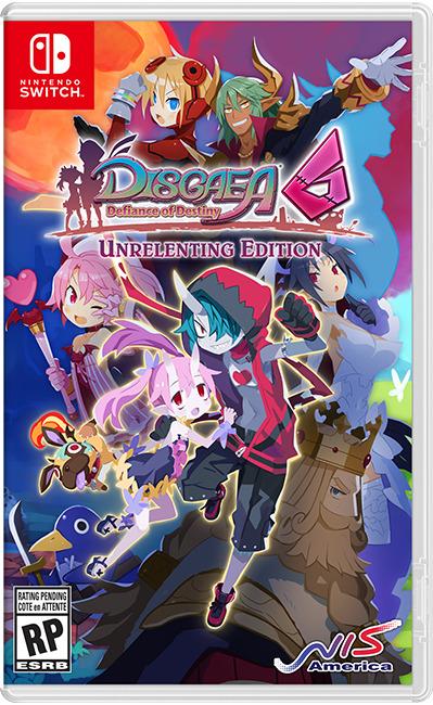 disgaea 6 cover switch