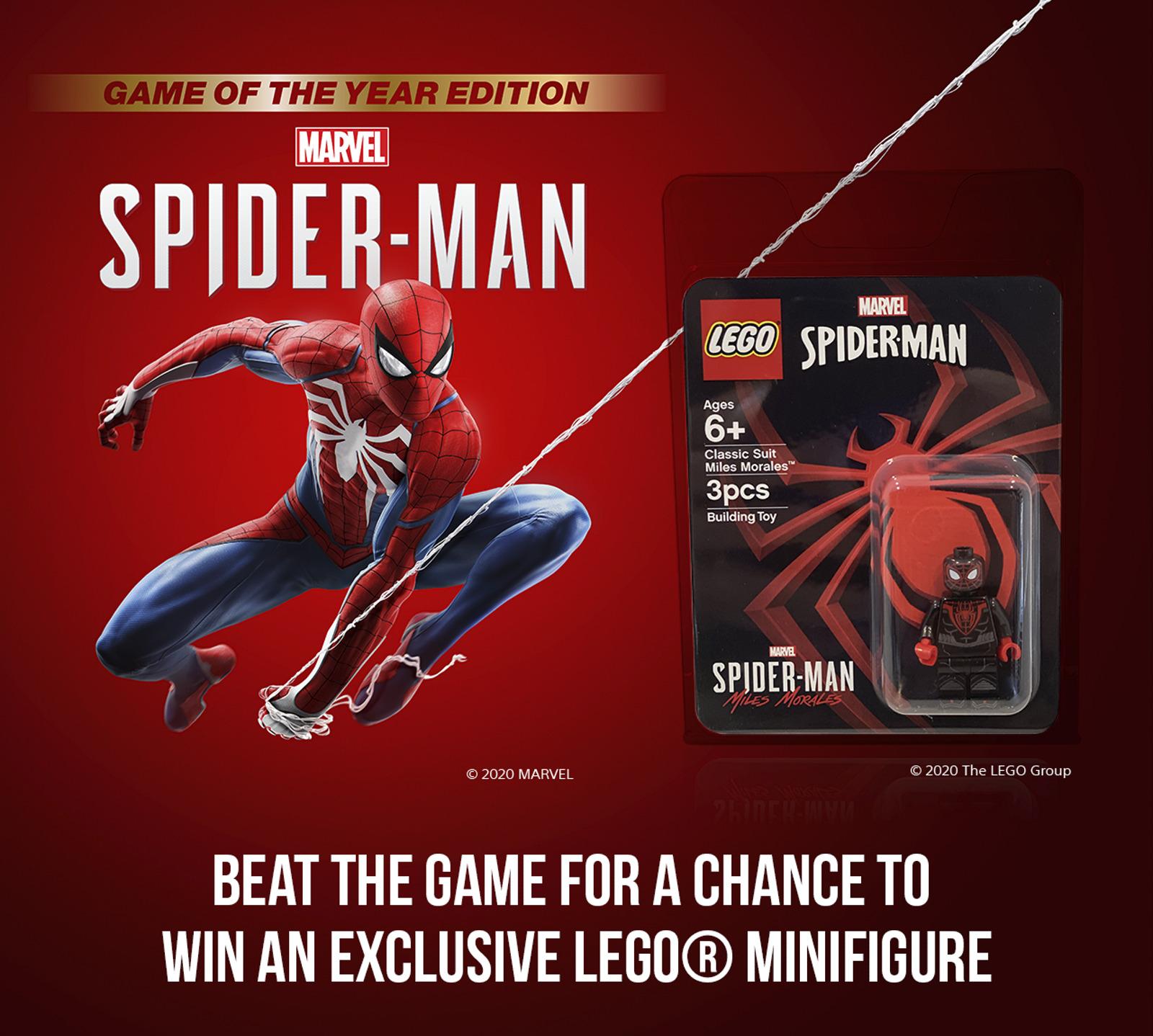 marvels spider-man miles morales lego minifig 2