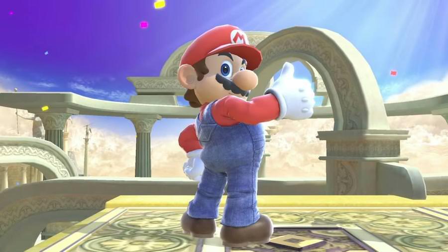 Super Smash Bros Character Mario