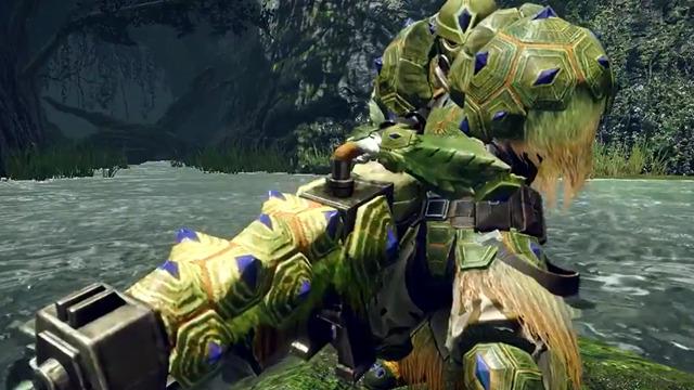 Monster Hunter Rise Tetranadon Armor Set