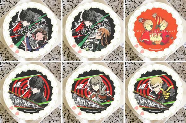 Persona 5 Christmas Cakes Japan