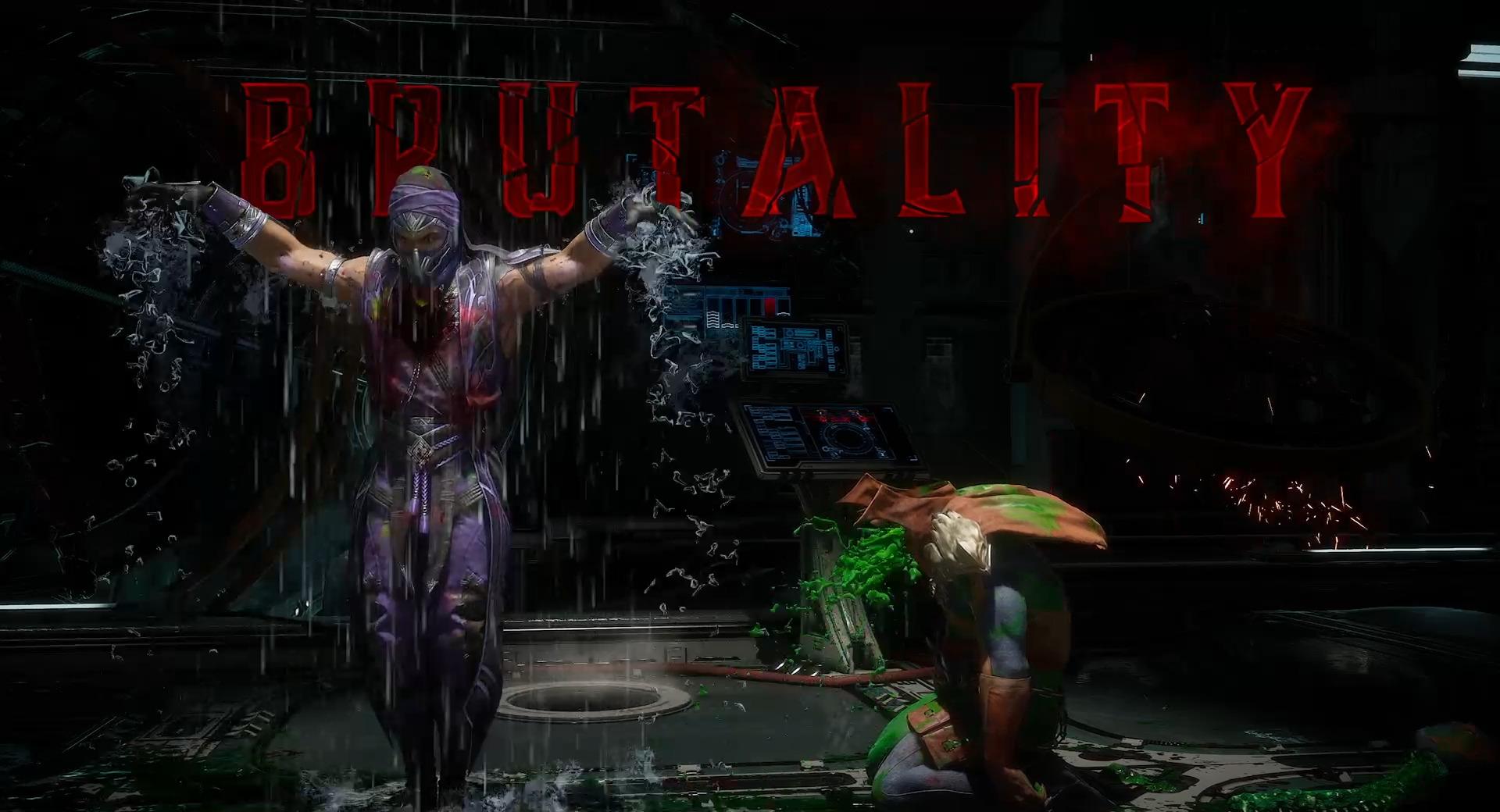 Mortal Kombat 11 Rain brutality