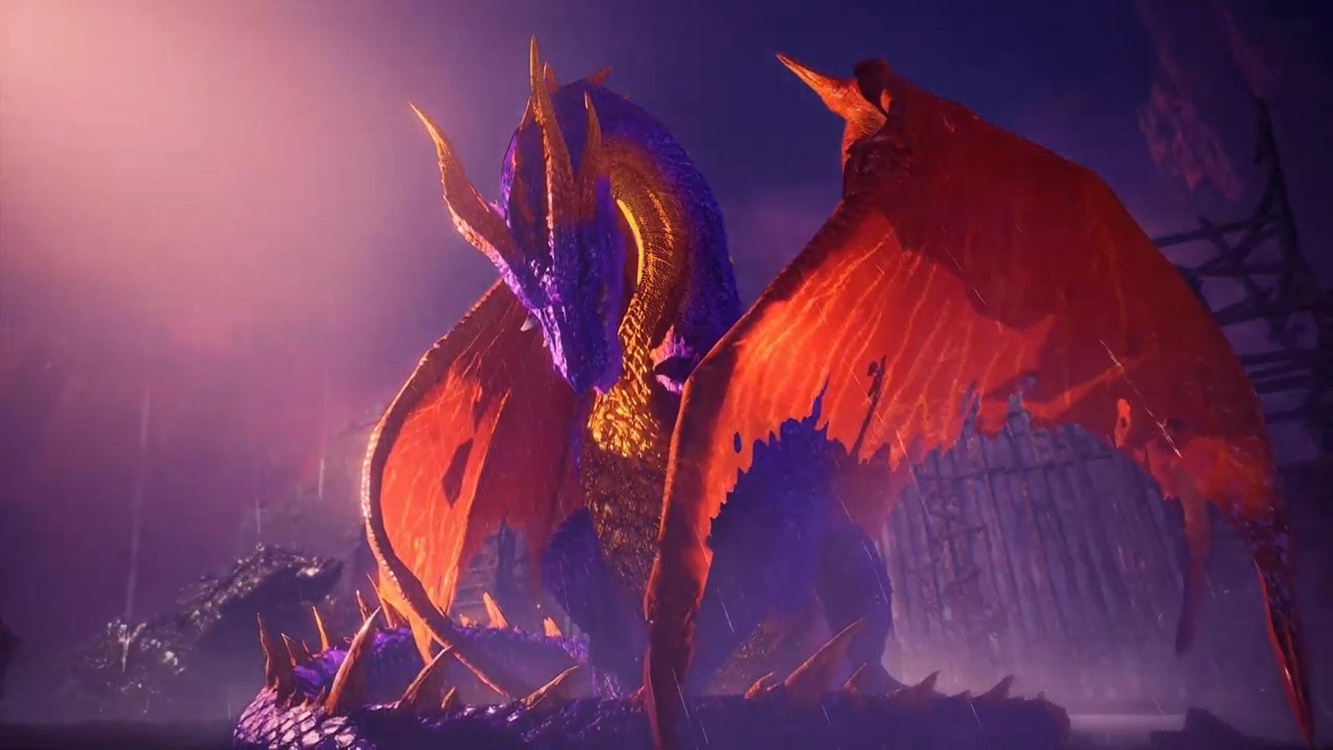 Monster Hunter World Mod Makes Fatalis Into Spyro the Dragon