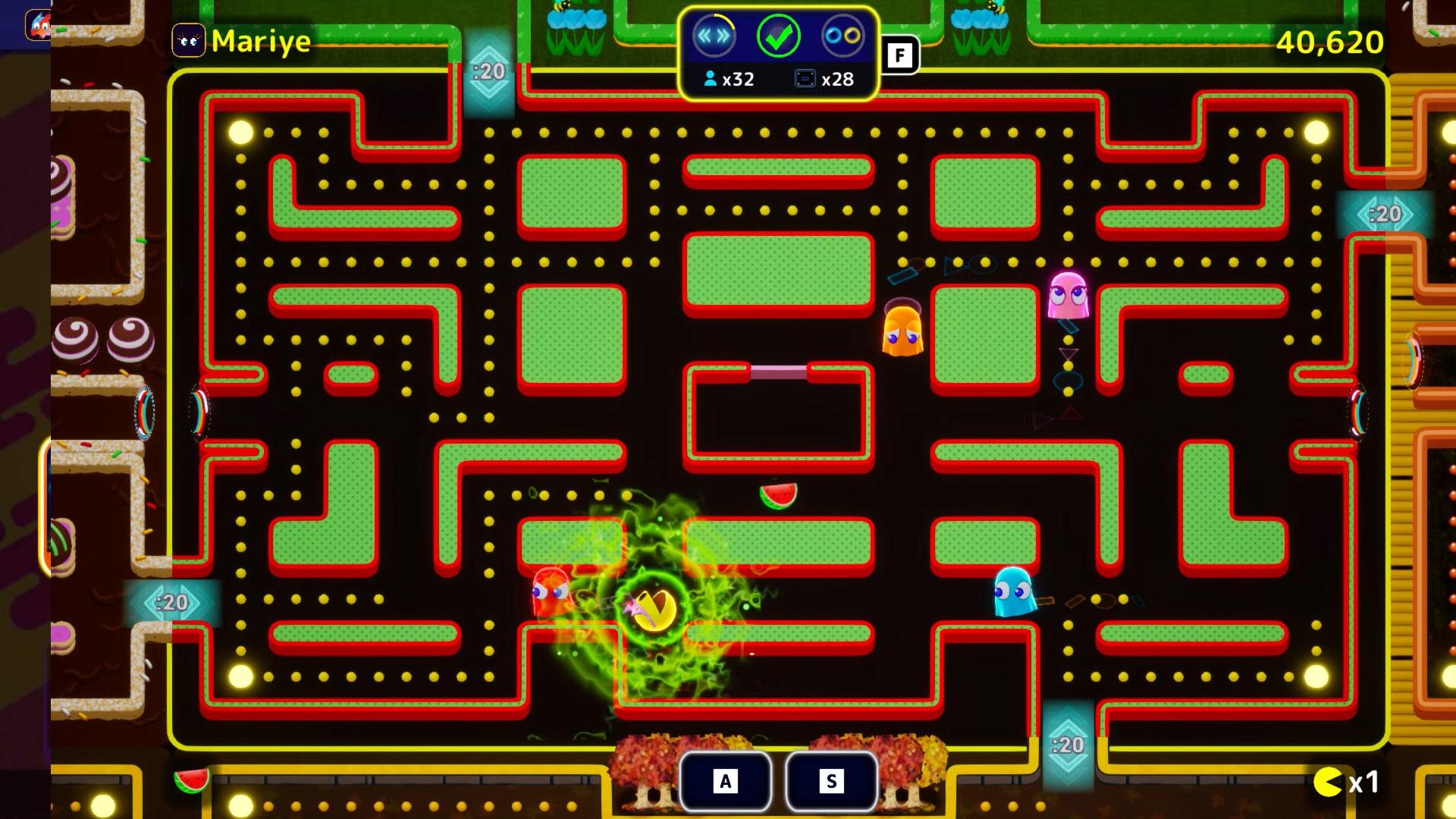pac-man mega tunnel battle 4