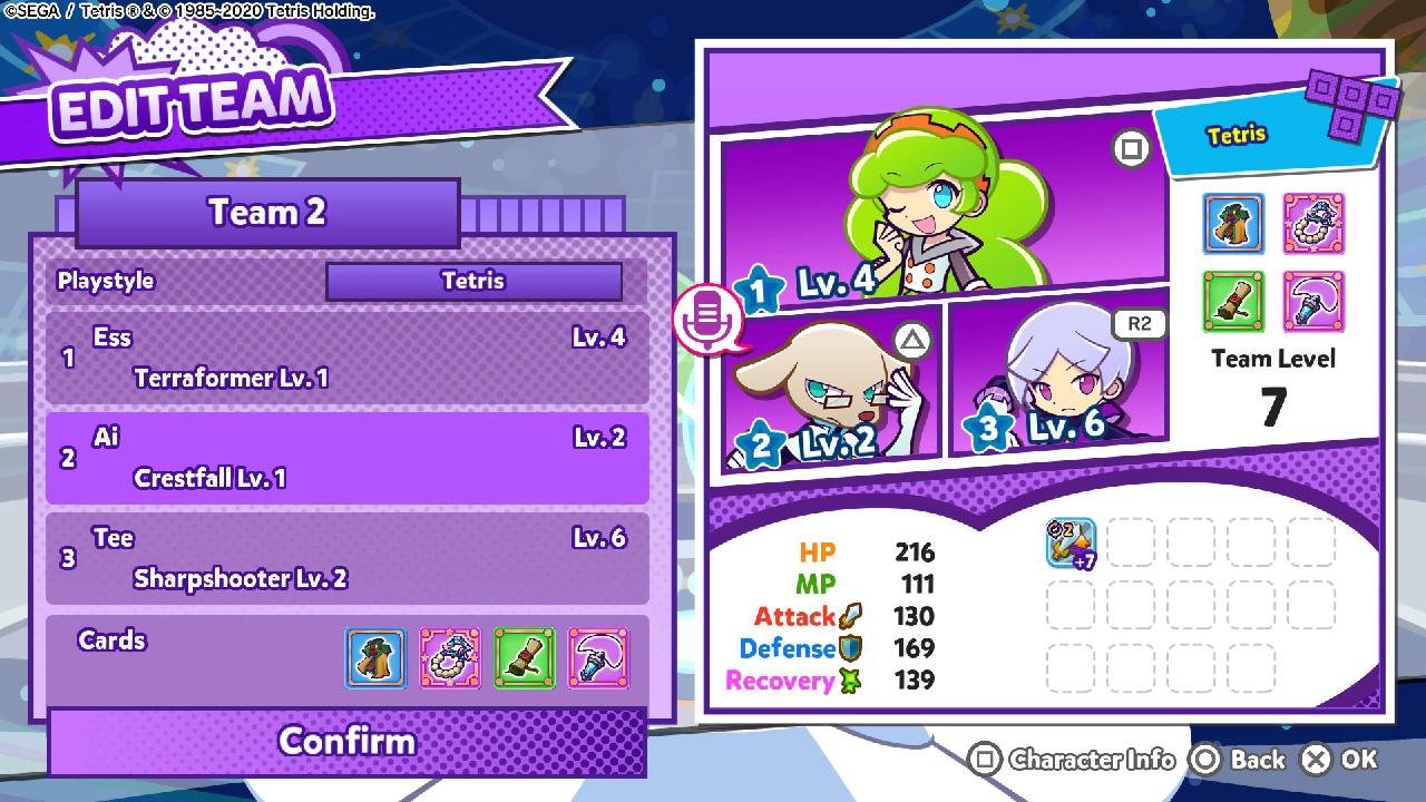 puyo puyo tetris 2 skill battles
