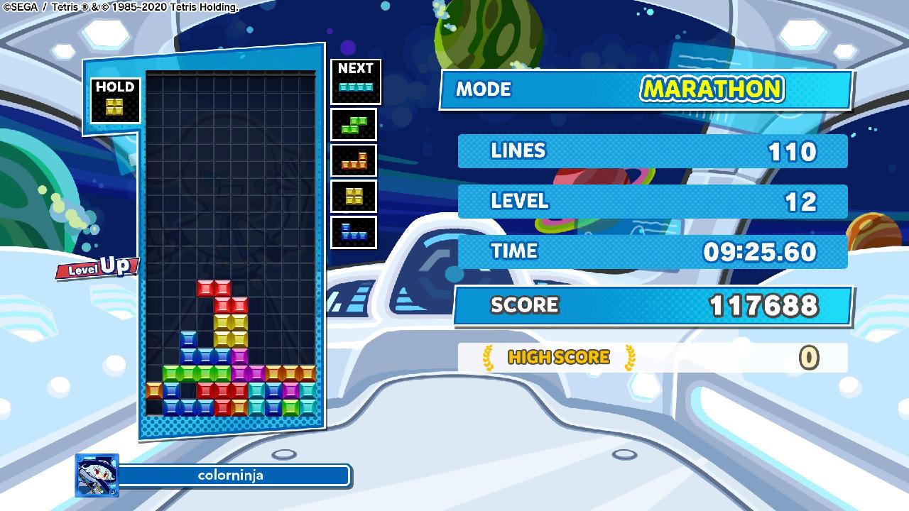 puyo puyo tetris 2 marathon