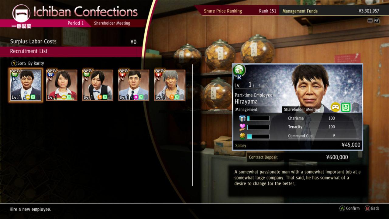 ichiban confection management