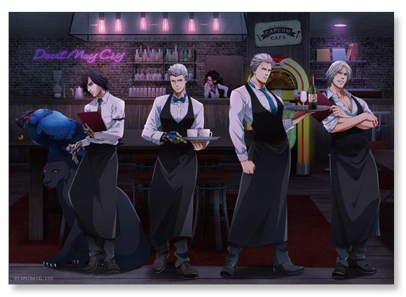Devil May Cry 5 Special Edition Capcom Cafe Collaboration Menu Items