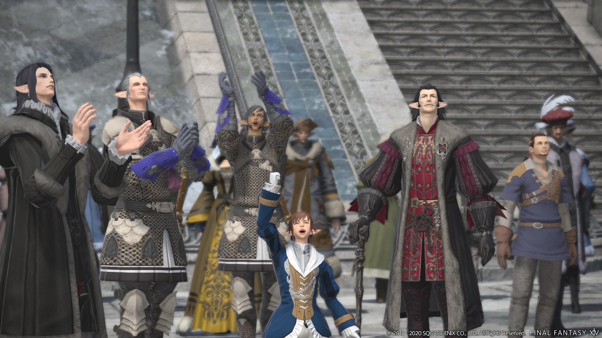 Final Fantasy XIV 5.4 Tomestone gear