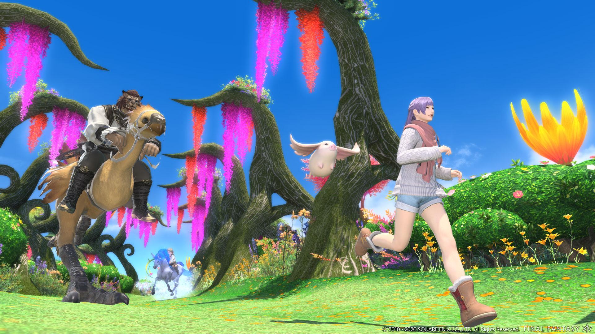 Final Fantasy XIV 5.4 Tomestone gear Explorer Mode