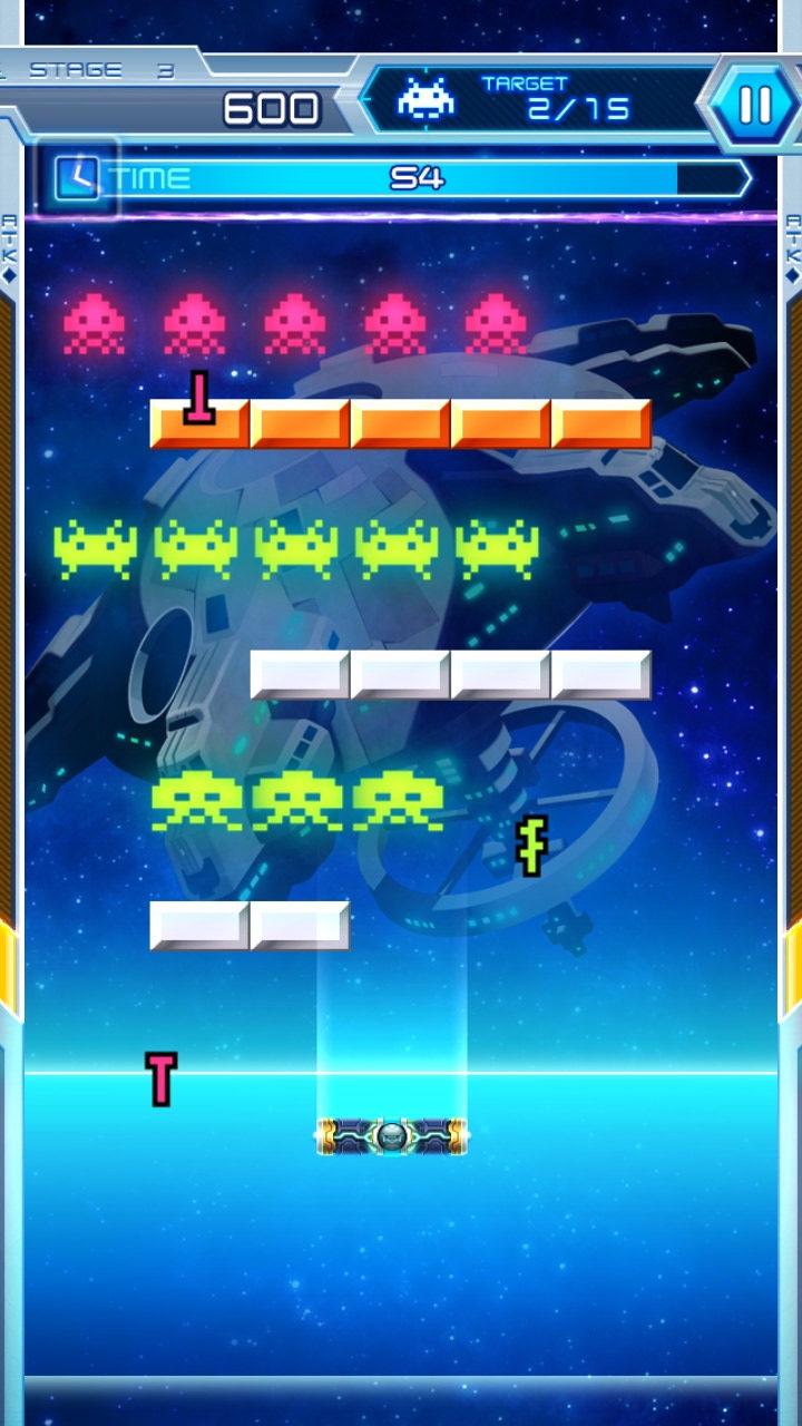 Space Invaders vs. Arkanoid