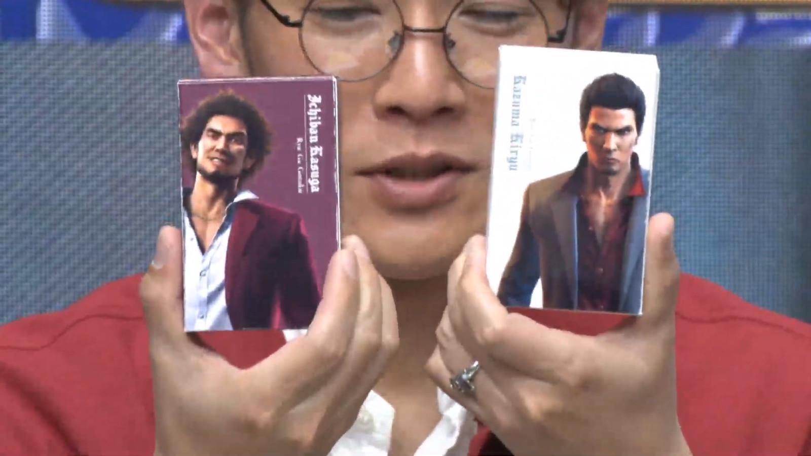 Yakuza colognes Kazuma Kiryu Ichiban Kasuga