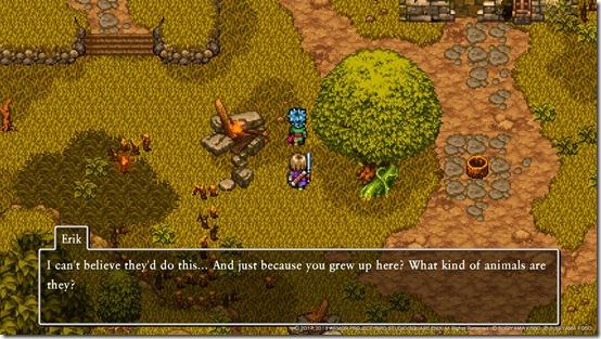 Dragon Quest XI S 2D Mode